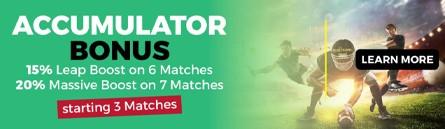 Accumulator Bonus banner