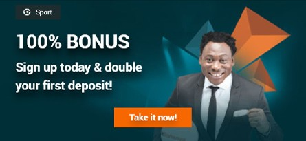 100% Bonus Promotion Banner