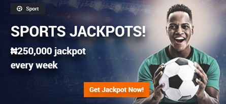 Sports Jackpots Promotion Banner