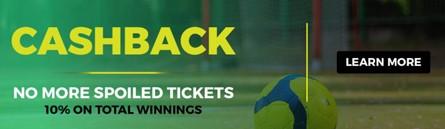 Cashback Bonus Banner At Lions Bet
