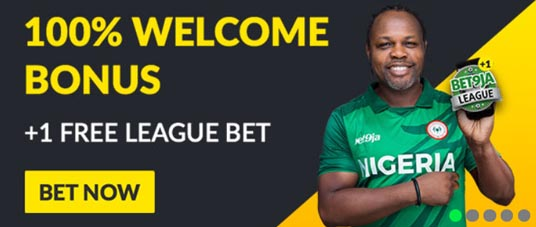 Bet9ja Welcome Bonus Banner